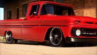 "Air Bagged 1962 Chevrolet C10 Restomod Pro Touring Hot Rod ""Red Hot Riding Hood"""