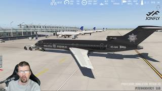 FlyJSim 727 Cold and Dark Tutorial Startup KORD Takeoff and Landing X-plane 11