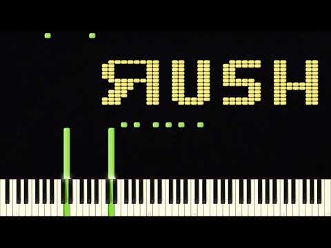 RUSH :D | Impossible Piano Remix | Black MIDI