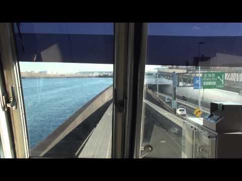【FHD全区間前面展望】東京モノレール羽田空港線 空港快速羽田空港第2ビル行 モノレール浜松町→羽田空港第2ビル Japan Tokyo Train View Tokyo Monorail Line