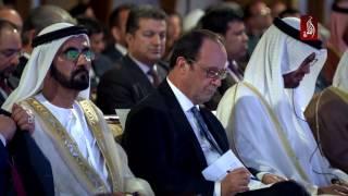 محمد بن راشد و محمد بن زايد يحضران الجلسة الختامية من مؤتمر الحفاظ على التراث الثقافي