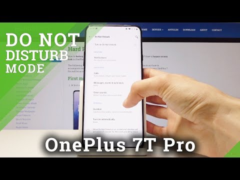 How To Enable Do Not Disturb Mode In OnePlus 7 Pro – Set Up Silent Mode
