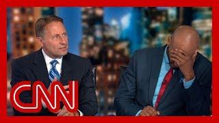 CNN panel clashes over Trump attacks