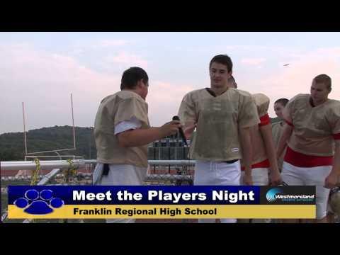 2014 Franklin Regional Football Meet the Players Night - 8.8.14