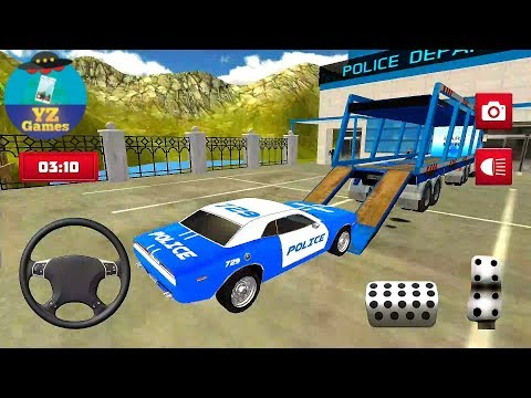 Transport Truck Police Cars (Transport Police Car Games) #yz Android GamePlay FHD