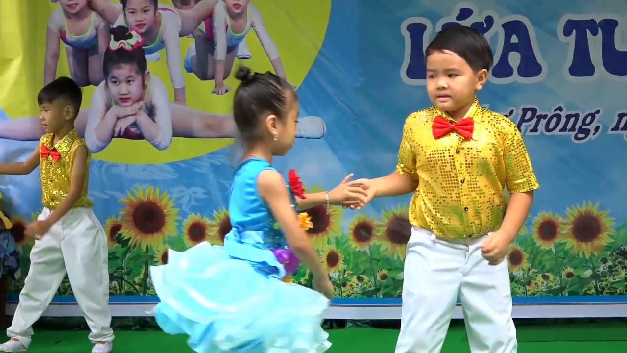 Khiêu Vũ Chery Cha Cha Cha - Dạy Bé Nhảy Aerobic - YouTube