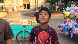 Niño de tequila canta espectacular