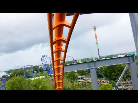 The Bat - Kings Island - Roller Coaster HD POV