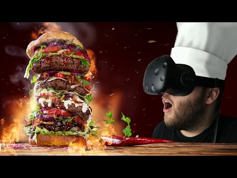 Building Beautiful Burgers! - VR The Diner Duo Gameplay - Co-op VR Experience (HTC VIVE)