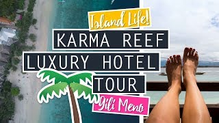 Karma Reef Luxury Beach Villa // Travel To The Gili Islands // Gili Meno