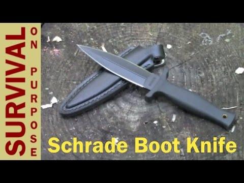 Schrade SCHF19L Boot Knife Review – Urban Survival Gear