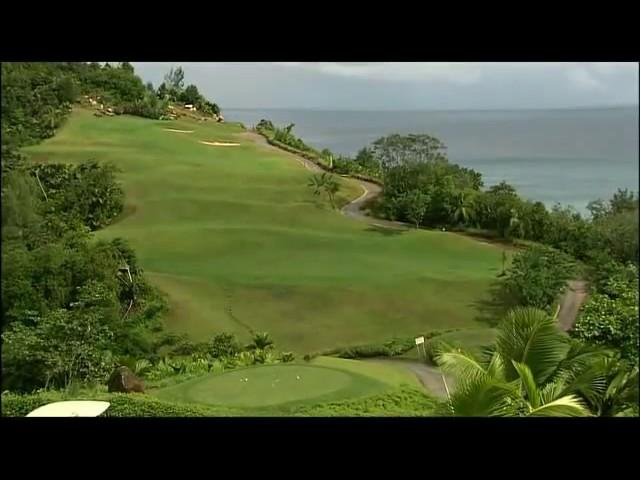 Video over Lémuria Golf Course op de Seychellen