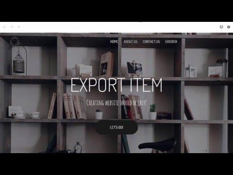 Gridbox Joomla Page Builder: Library Items