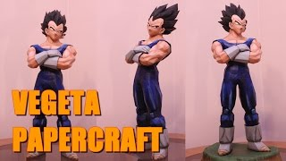 Papercraft  Dragon Ball - Vegeta