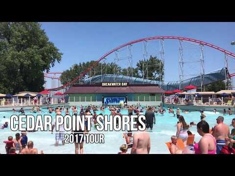 Cedar Point Shores Water Park Tour- New Park For 2017