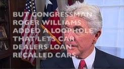 Car dealer Congressman gets loophole to loan or rent unsafe recalled cars