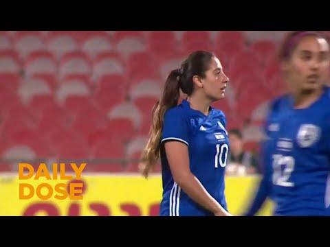Israel's New Female Soccer Star Danielle Schulmann
