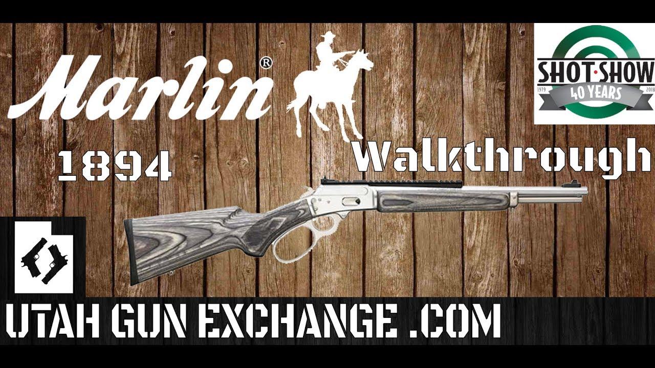 SHOT Show - 2018 Marlin's NEW 1894 CSBL & Booth Walkthrough