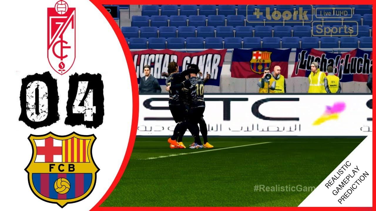 Granada vs. Barcelona en directo: resultado, alineaciones ...