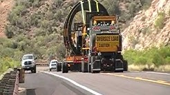 A 285 Ton Oversize Anode Load Moving Toward Miami, Arizona 8-16-11