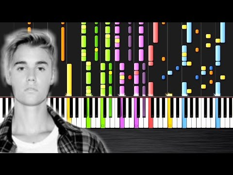Justin Bieber - Sorry - IMPOSSIBLE PIANO by PlutaX - Synthesia