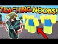 Lagu TEACHING NOOBS HOW TO PLAY SUPER POWER TRAINING SIMULATOR! (ROBLOX)