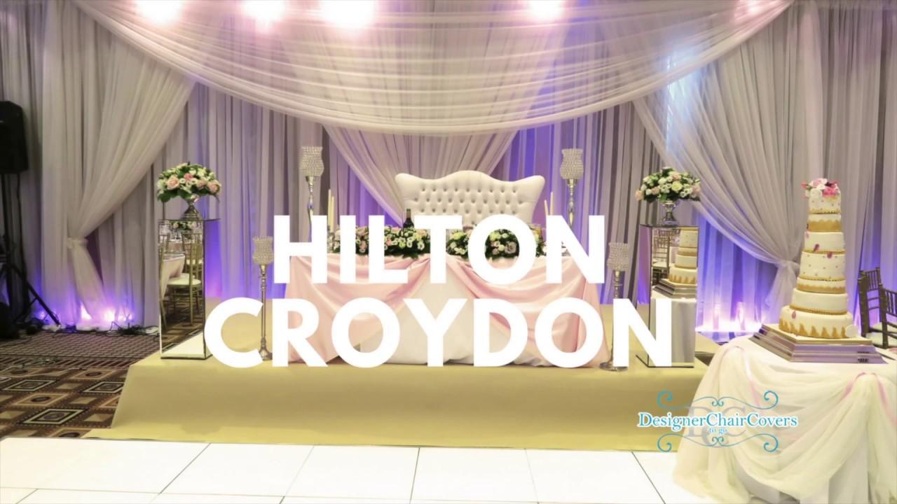 The hilton croydon hotel wedding by designer chair covers to go the hilton croydon hotel wedding by designer chair covers to go junglespirit Images
