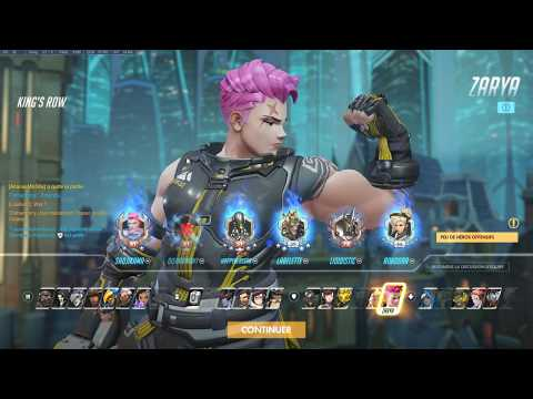 Overwatch 01 10 2018   scrim test 1 gamers energy King's row