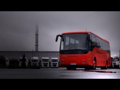 MAN Temsa Safari bus test ride after refurbishment in Hungary