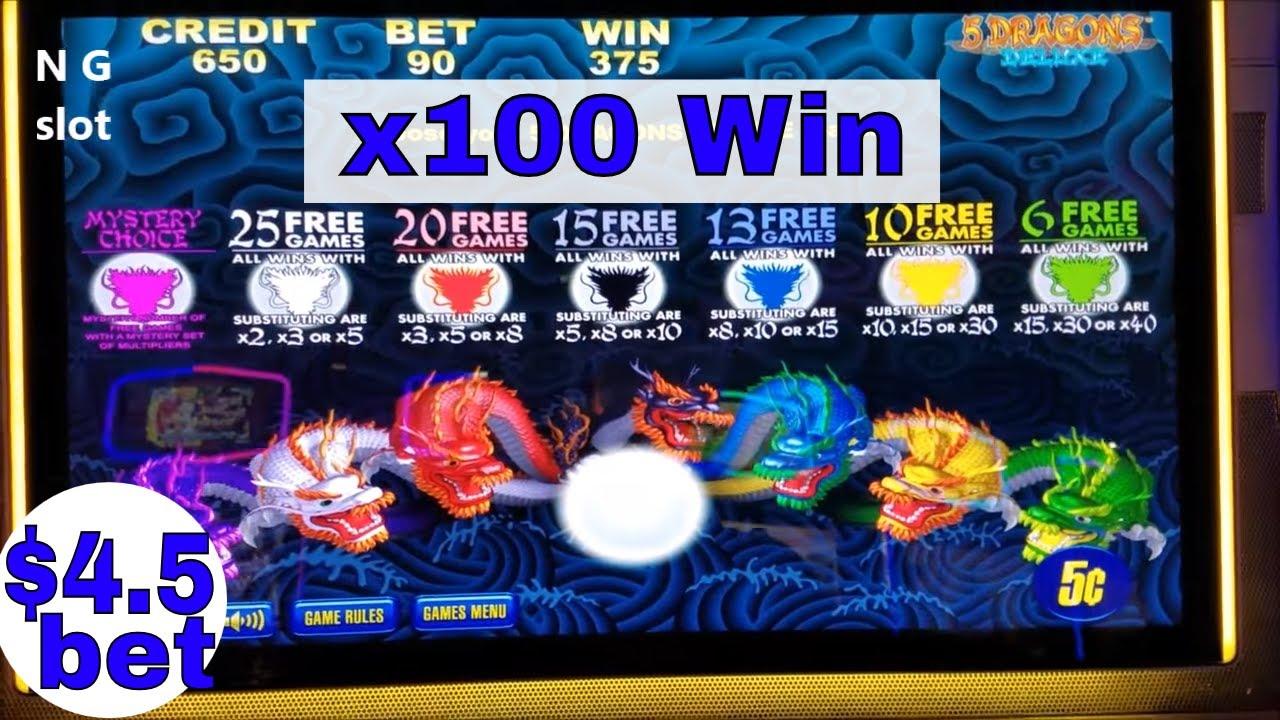 how to win 5 dragons slot machine