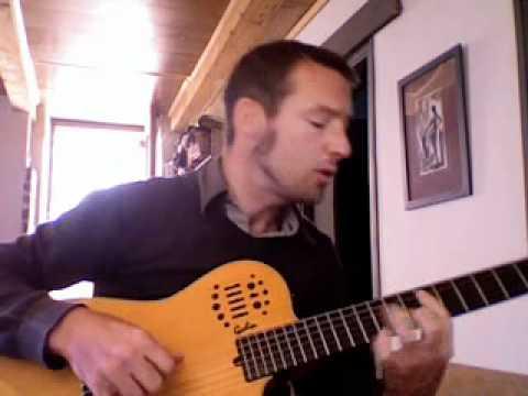 art mengo ultra marine acoustic guitar cover