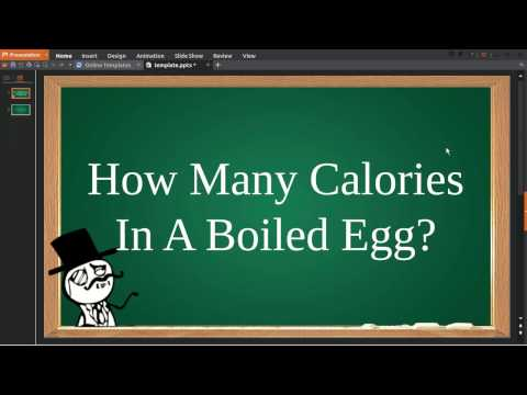 The Number Of Calories within an Egg