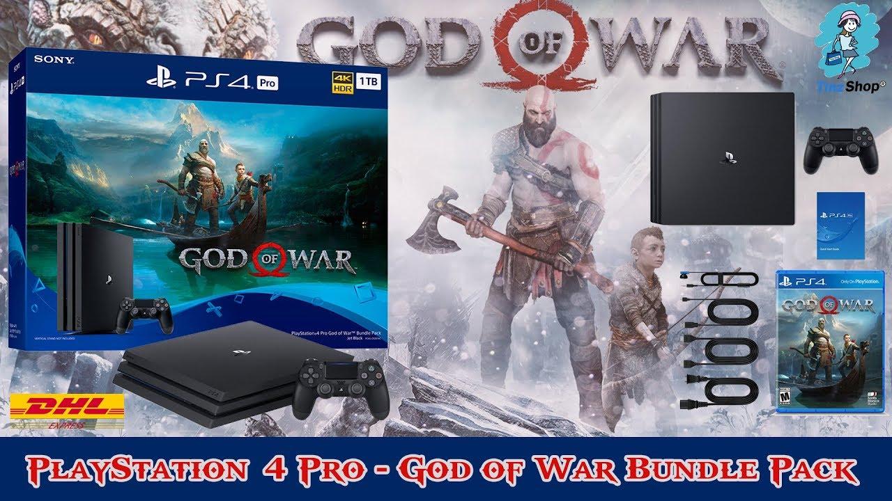 PlayStation®4 Pro 1TB - God of War Bundle Pack