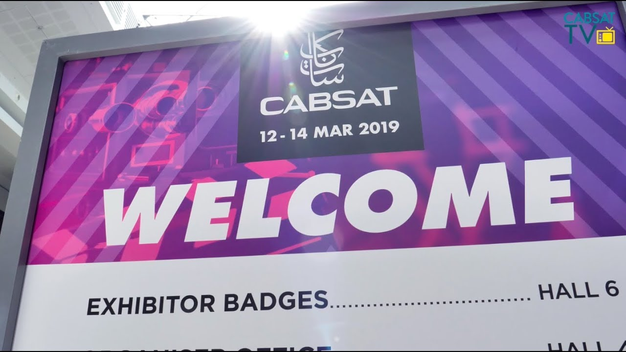 Broadcast, Satellite, Content Event, CABSAT, 31 Mar - 2 Apr 2020, Dubai