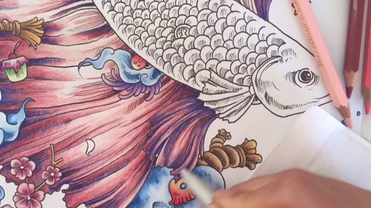 Coloring Pages Barbie And The Secret Door : Animorphia adult coloring youtube