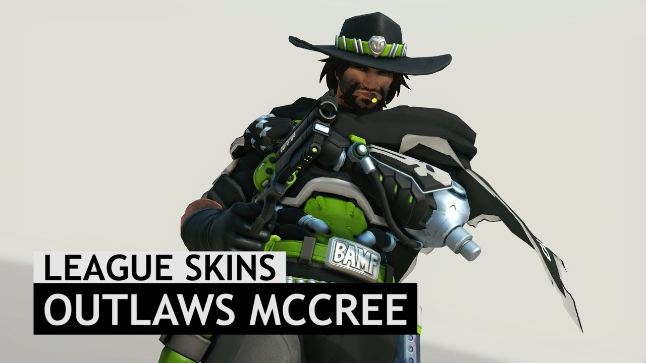Overwatch Houston Outlaws McCree Skin In Game Overwatch