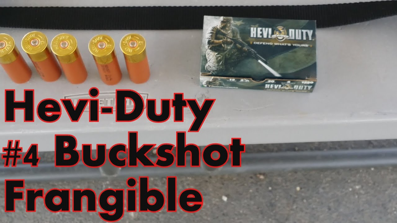 Hevi Shot / Hevi Duty #4 Shot Frangible