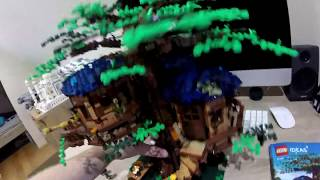 LEGO 21318 TREE HOUSE SPEED BUILD