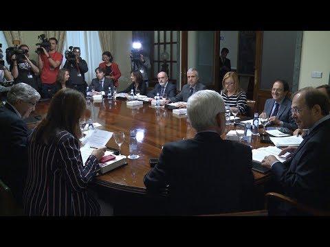 Comienza la Mesa del Senado que ordenará la tramitación de las medidas del 155