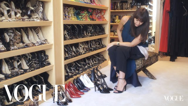 Head Over Heels: Inside Tamara Mellonu0027s Closet
