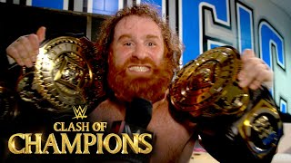 Sami Zayn trashes Jeff Hardy and AJ Styles after title victory: WWE Network Exclusive, Sep. 27, 2020