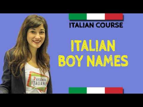 100 Italian Baby Names