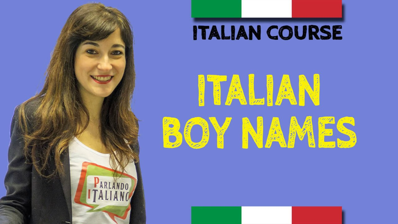 Italian Boy Name: Italian Baby Boy Names