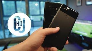 Google Pixel 2 XL vs Samsung Galaxy Note 8 – Camera Comparison! - CJ HD