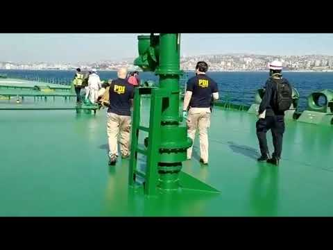 PDI y Fiscalía investigan muerte de dos tripulantes a bordo de petrolero que arribó a Valparaíso
