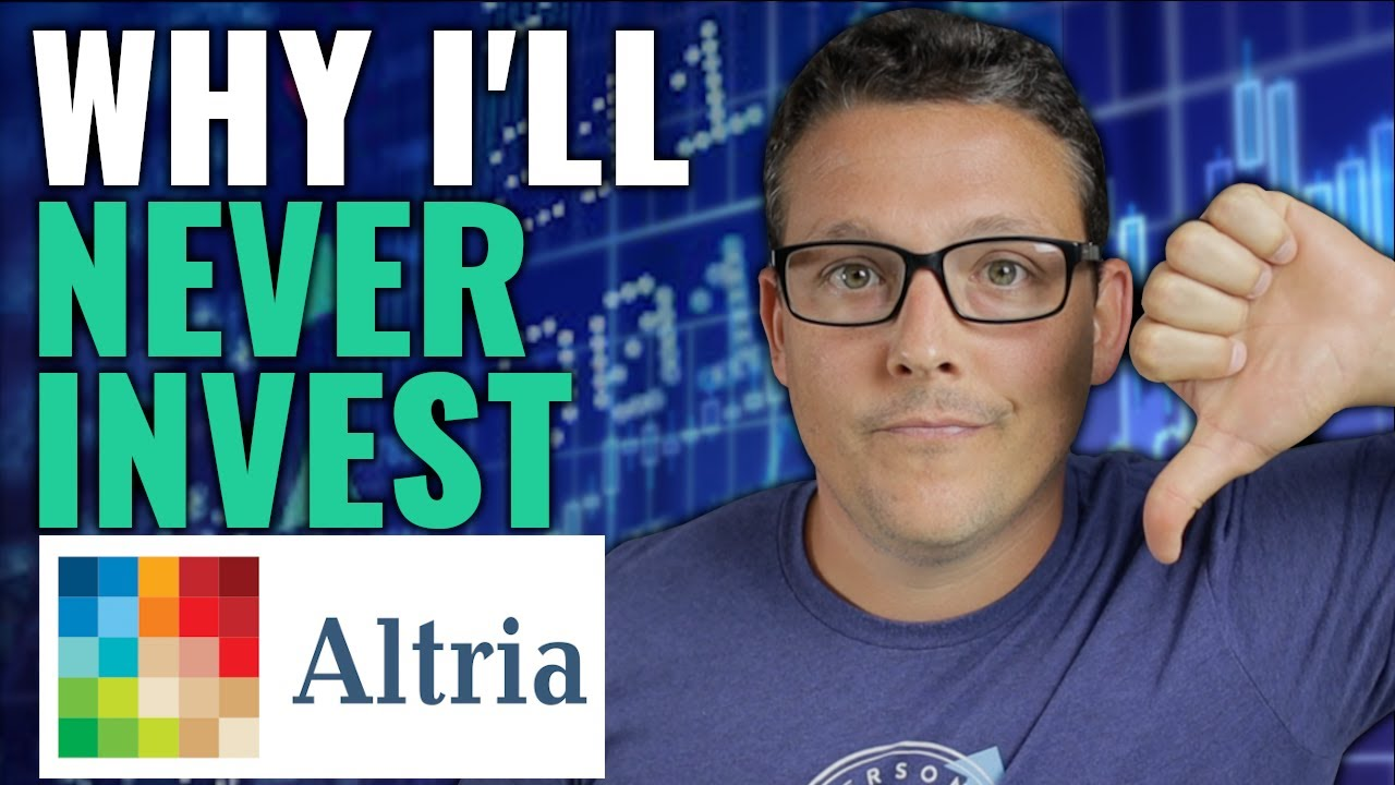 3 Reasons Why I'll NEVER Invest In Altria Stock ($MO)