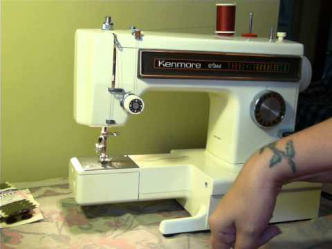 NIFTYTHRIFTYGIRL Vintage 40s Kenmore Convertible Sewing Machine New How To Oil My Kenmore Sewing Machine