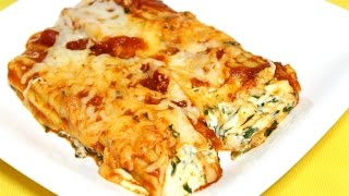 Spinach & Cheese Stuffed Manicotti - In The Kitchen With Jonny Episode 74