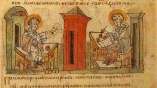 Глаголица и кириллица Кирилла и Мефодия