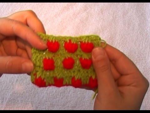 ягоды крючком: вязаная ежевика, вязаная малина